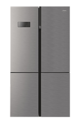 DEFY <BR &#47;> SIDE BY SIDE <BR &#47;> FRIDGE (METALLIC) <BR &#47;>MODEL: DFF400