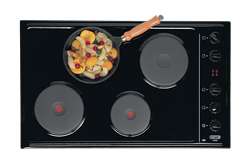 DEFY SOLID PLATE HOB DHD326