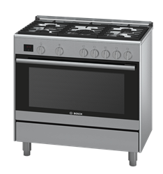 BOSCH FULL <BR &#47;> GAS STOVE (S&#47STEEL) <BR &#47;>MODEL: HSG737357Z