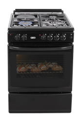 DEFY GAS ELECTRIC STOVE (BLACK) MODEL: DGS179