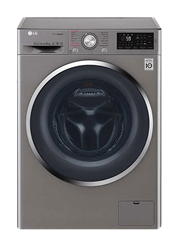 LG FRONT <BR &#47;> LOADER WASHING <BR &#47;> MACHINE (SILVER) <BR &#47;>MODEL: FH4U2TYP2S