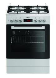 DEFY GAS ELECTRIC STOVE (WHITE) MODEL: DGS182