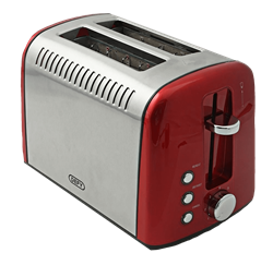 DEFY TOASTER (RED) MODEL:TA828S