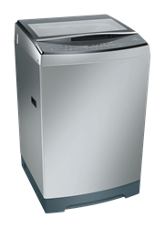 BOSCH 13KG TOP LOADER WASHING MACHINE (SILVER) MODEL: WOE135S0ZA