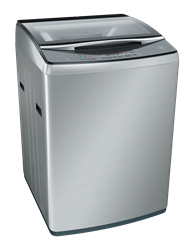 BOSCH 16KG TOP LOADER WASHING MACHINE (SILVER) MODEL: WOA165X0ZA