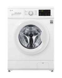 LG FRONT LOADER WASHING MACHINE (SILVER) MODEL: F10C3TDP0