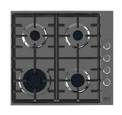 DEFY GAS HOB (S/STEEL) MODEL: DHG602