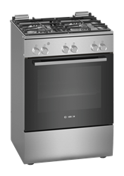 BOSCH FULL GAS STOVE (S/STEEL) MODEL: HGA120E50Z