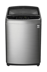 LG 18KG TOP LOADER WASHING MACHINE (SILVER) MODEL: T1866NEFTU