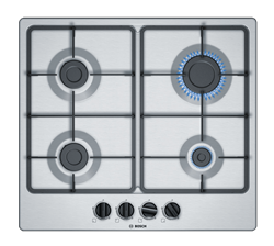 BOSCH GAS HOB (S/STEEL) MODEL: PGP6B5B60Z