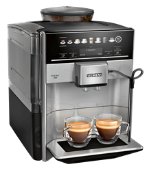 SIEMENS COFFEE MACHINE (BLACK) MODEL: TE655203RW