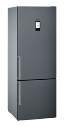 SIEMENS DOUBLE DOOR FRIDGE (S/STEEL) MODEL: KG56NAX30U