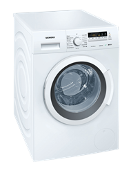 SIEMENS 7KG FRONT LOADER WASHING MACHINE (WHITE) MODEL: WM10K200ME