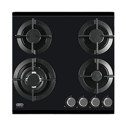 DEFY GAS HOB (BLACK) MODEL: DHG604