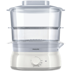PHILIPS STEAMER (WHITE) MODEL: HD9115/81