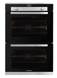 GRUNDIG BUILT IN <BR &#47;> DOUBLE OVEN (BLACK) <BR &#47;>MODEL: GEDM26000B