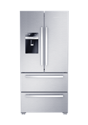 GRUNDIG <BR &#47;> FRENCH DOOR <BR &#47;> FRIDGE (S&#47;STEEL) <BR &#47;>MODEL: GQN1232X