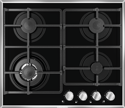 GRUNDIG GAS HOB (BLACK) MODEL: GIGG6234150X