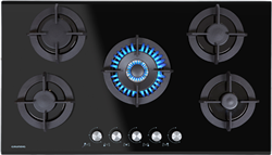 GRUNDIG GAS HOB (BLACK) MODEL: GIGG9235150X