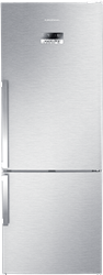 GRUNDIG DOUBLE <BR &#47;> DOOR FRIDGE (S&#47;STEEL) <BR &#47;>MODEL: GKN17930FX