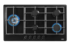 DEFY GAS HOB (BLACK) MODEL: DHG128