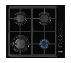 DEFY GAS HOB (BLACK) MODEL: DHG132