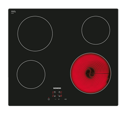 SIEMENS CERAMIC HOB (BLACK) MODEL: ET611HE17E