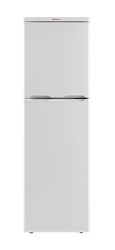 UNIVA DOUBLE DOOR FRIDGE (WHITE) MODEL: UT185W