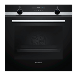 SIEMENS BUILT IN OVEN (BLACK) MODEL: HB557G4S0