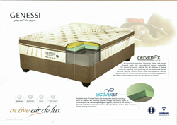 GENESSI ACTIVEAIR DE LUX QUEEN SIZE (W:152CM X L:188CM) MATTRESS MODEL: GENM039
