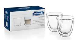 DELONGHI CAPPUCCINO GLASS SET MODEL: 5513214601