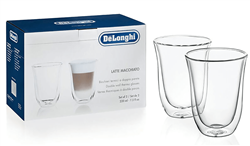 DELONGHI LATTE GLASS SET MODEL: 5513214611