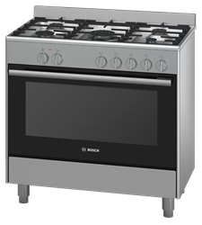 BOSCH GAS ELECTRIC STOVE (S/STEEL) MODEL: HSB734357Z