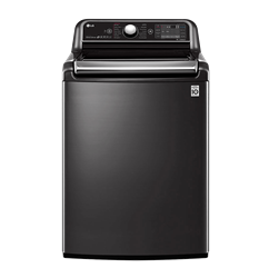 LG 24KG TOP LOADER WASHING MACHINE (BLACK S/STEEL) MODEL: T2472EFHSTL