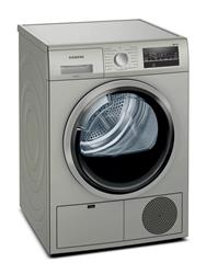 SIEMENS 8KG CONDENSER TUMBLE DRYER (SILVER) MODEL: WT46G40SZA