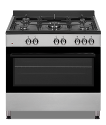 DEFY GAS/ELECTRIC STOVE (BLACK) MODEL: DGS902