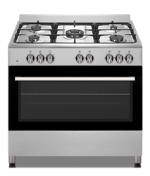 DEFY GAS/ELECTRIC STOVE (S/STEEL) MODEL: DGS904