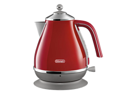 DELONGHI 1.7L KETTLE (RED) MODEL: KBOC3001.R