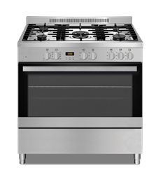 DEFY GAS/ELECTRIC STOVE (S/STEEL) MODEL: DGS906