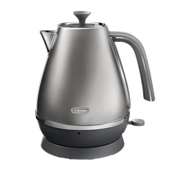 DELONGHI 1.7L DISTINTA FLAIR  KETTLE (SILVER) MODEL: KBI2001.S