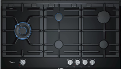 BOSCH GAS HOB (BLACK) MODEL: PRS9A6D70