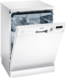 SIEMENS DISHWASHER (WHITE) MODEL: SN215W01EZ
