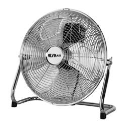 ALVA AIR CHROME FLOOR FAN (S/STEEL) MODEL: ACS203