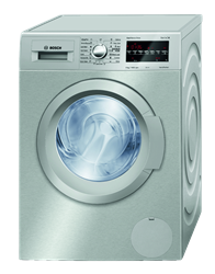 BOSCH FRONT LOADER WASHING MACHINE (INOX) MODEL: WAT2848XZA