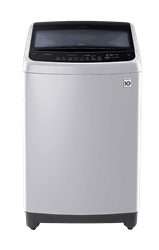 LG 17KG TOP LOADER WASHING MACHINE (SILVER) MODEL: T1777NEHTE