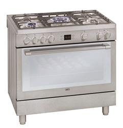 DEFY GAS ELECTRIC STOVE (S/STEEL) MODEL: DGS162