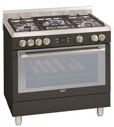DEFY GAS ELECTRIC STOVE (ANTHRACITE) MODEL: DGS162A