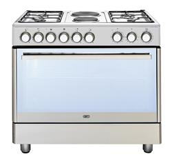DEFY GAS ELECTRIC STOVE (S/STEEL) MODEL: DGS158