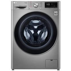 LG 8.5KG FRONT LOADER WASHING MACHINE (S/STEEL) MODEL: F2V5GGP2T