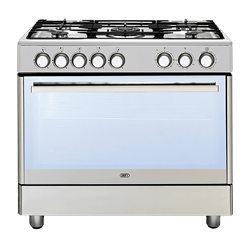 DEFY GAS ELECTRIC STOVE (S/STEEL) MODEL: DGS161